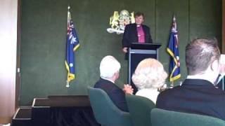Archbishop John Hepworth Accession Day 2010
