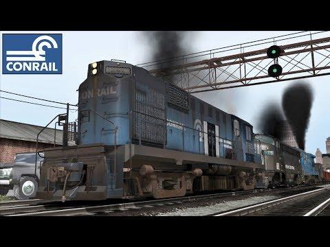 Alco RS 11 Conrail Railroad