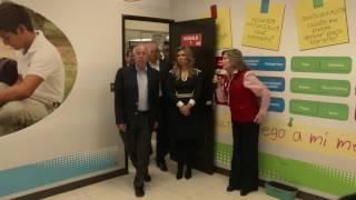 Gobernadora inaugura Centro Estatal de Vacunas y dialoga con jóvenes