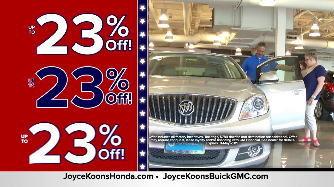 Virginia Car Tax >> We Ll Pay Your Virginia State Sales Tax At Joyce Koons Buick Gmc