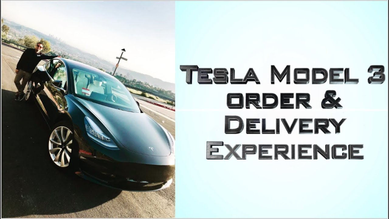 MY TESLA MODEL 3 BUYING EXPERIENCE (from test drive to ...