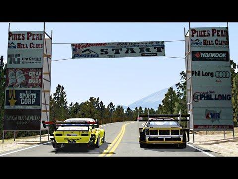PIKES PEAK HILL CLIMB / Assetto Corsa / Opel VS Audi
