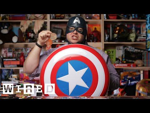Captain America's Unrealistic Vibranium Shield | Angry Nerd