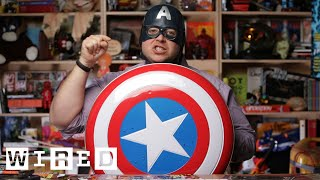 Angry Nerd: Captain America's Unrealistic Vibranium Shield