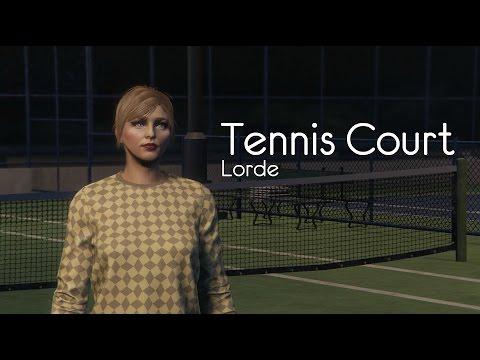 Lorde - Tennis Court (GTA Online)
