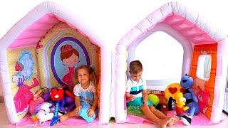Roma e Diana não dividem os brinquedos!