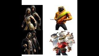 Fortnite: Neue Skins Bao Bros,Doggo,Sandstorm,Scimitar (SEASON 9)