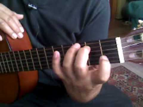 Beginner Guitar Chords Webcam: How to walk from E chord to G chord ...
