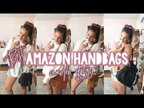 BEST AMAZON HANDBAGS Under $50 | Sarah Brithinee