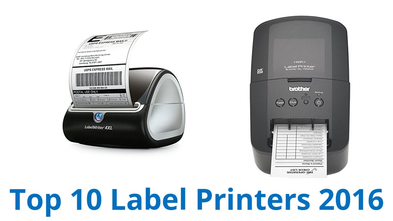 brother label printer templates - 10 best label printers 2016 youtube
