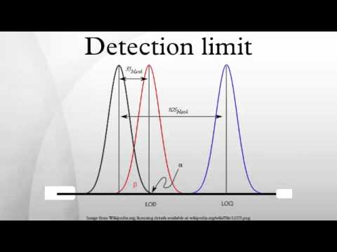 Detection limit - Wikipedia