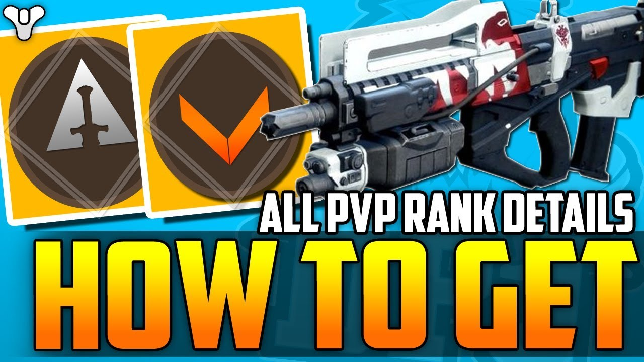Destiny 2 - HOW TO GET Redrix's Claymore - ALL RANKED PvP Details - Valor &  Glory Ranks