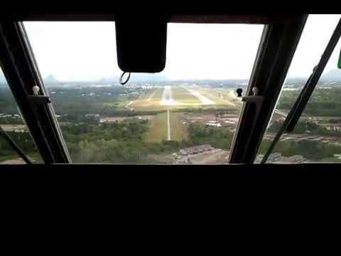 RMAF CN235-220M smooth landing.