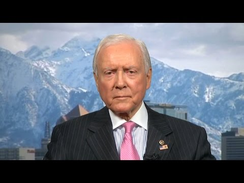 "Sen. Orrin Hatch slams ""politics"" in Supreme Court fight"