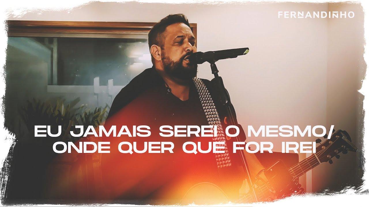 Fernandinho | Porque Ele Vive + Cristo Valerá (Álbum Galileu Acústico) -  YouTube