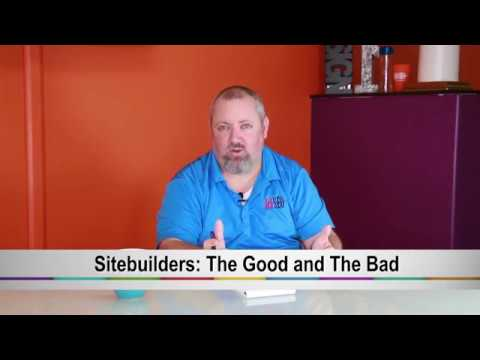 WebSite Builders: The Good and The Bad