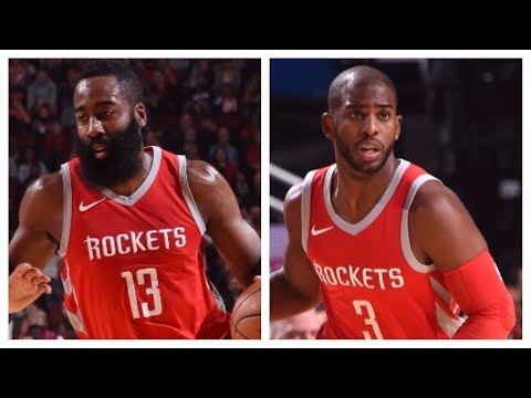 James Harden (21/8/9) and Chris Paul (23/12) Lead Rockets Over Nuggets   November 22, 2017