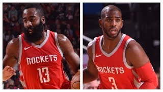 James Harden (21/8/9) and Chris Paul (23/12) Lead Rockets Over Nuggets | November 22, 2017