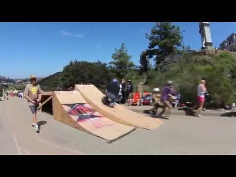 Bonzing Skateboards: Downhill