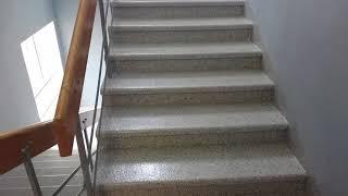 Ремонт старой бетонной лестницы