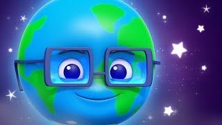 Planets Song | Learn the Planets | Nursery Rhyme | Kids Songs by Luke & Lilly