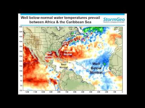 StormGeo's 2015 Severe Weather and Tropical Outlook Webinar
