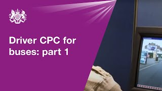 Driver CPC for buses: part 1 - theory test
