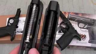 Airsoft M&P Pistols - Tokyo Marui vs VFC