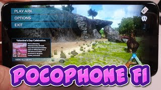 Pocophone F1 Ark Survival Evolved/Cyber Hunter Gameplay/New version/update/60FPS Ultra high graphics