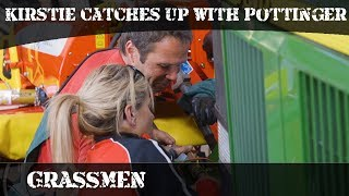 GRASSMEN - Kirstie catches up with Pottinger