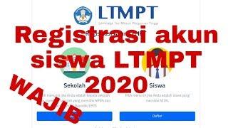 Cara Registrasi Akun Ltmpt Untuk Siswa