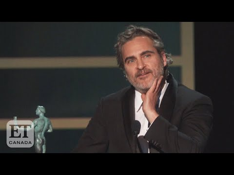 Joaquin Phoenix Thanks Heath Ledger, My Favorite Actor, In SAG ...