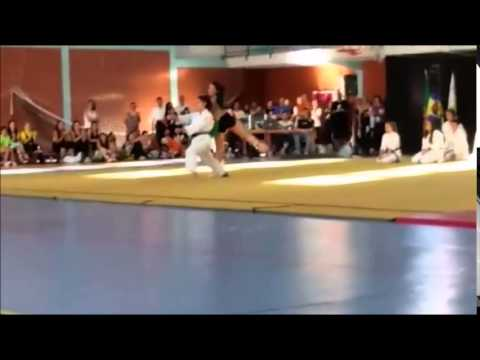 Karate and Ballet    pure art!