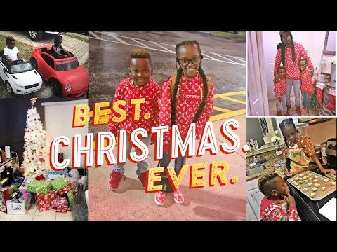 THE BEST CHRISTMAS EVER- CHRISTMAS DAY FAMILY VLOG