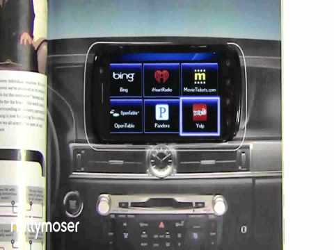 Lexus Magazine Print Advertising Near  Field Communications NFC Wired Print Power