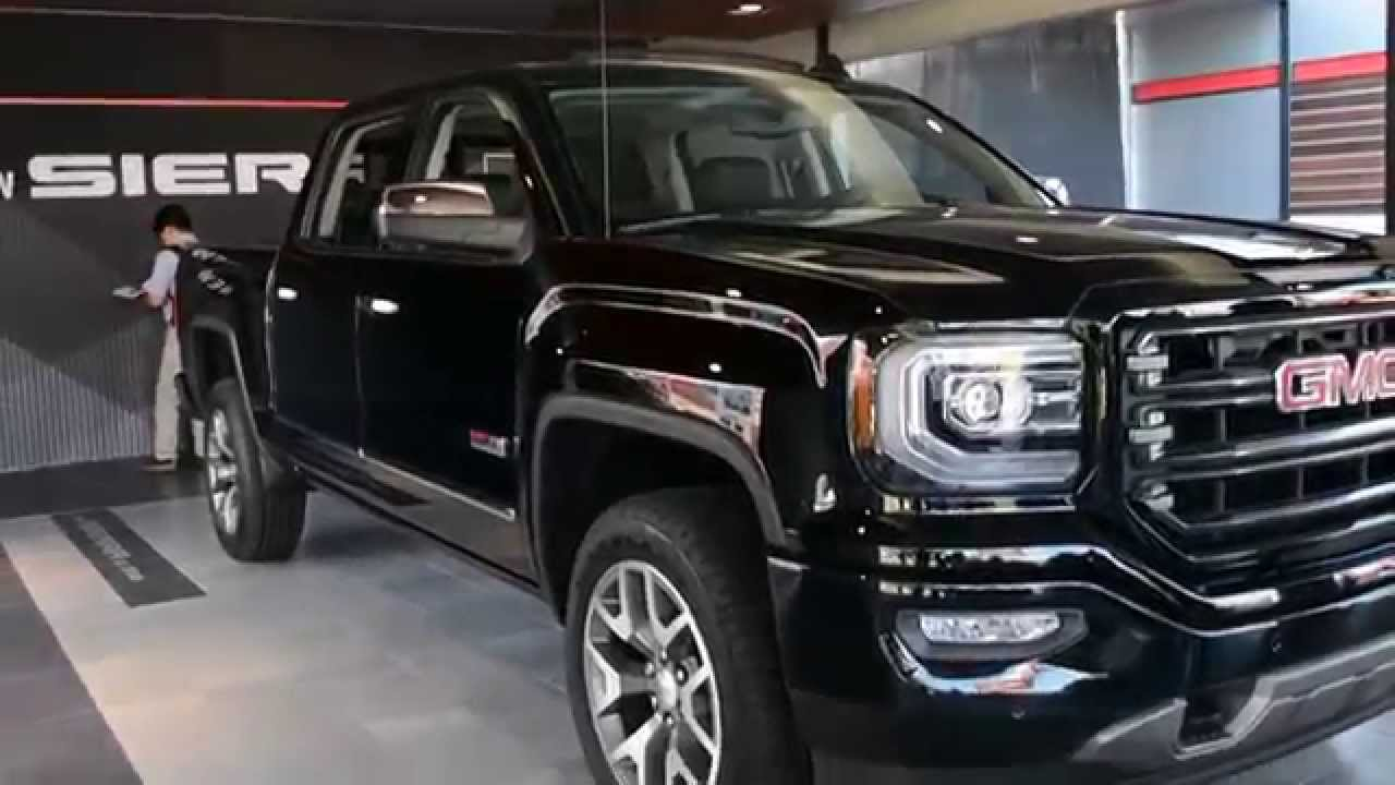 2016 GMC Sierra All Terrain Edition Walkaround Review ...