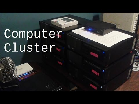 Simple, Low-Cost, High-Volume Computer Cluster for Document Processing