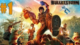 Bulletstorm - Walkthrough - Part 1 - On The Road To Hell (PC) [HD]