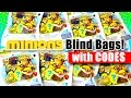 Mega Bloks Minions Series3 Surprise Blind Bags with CODES - Mini Figures - 슈퍼배드 미니언