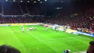 Mainz 05 gegen FC Bayern München das 3:1 live in Top quali!!