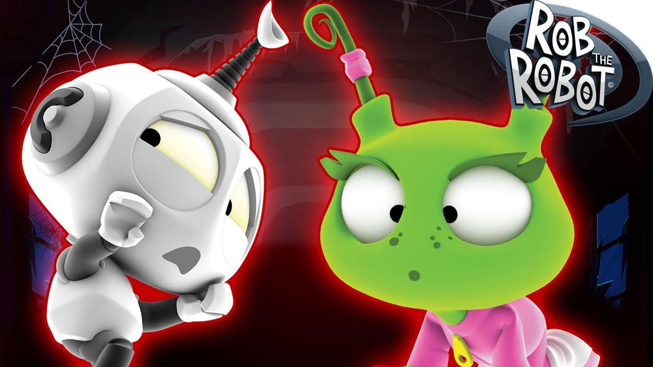 Dibujos Animados  Rob el Robot  Monstruos Espaciales