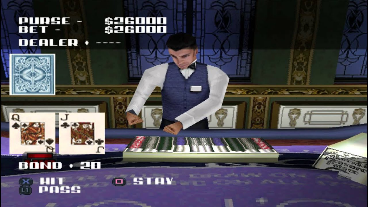007 The World Is Not Enough Ps1 Russian Roulette 007