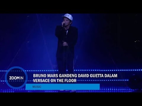 Bruno Mars Gandeng David Guetta dalam