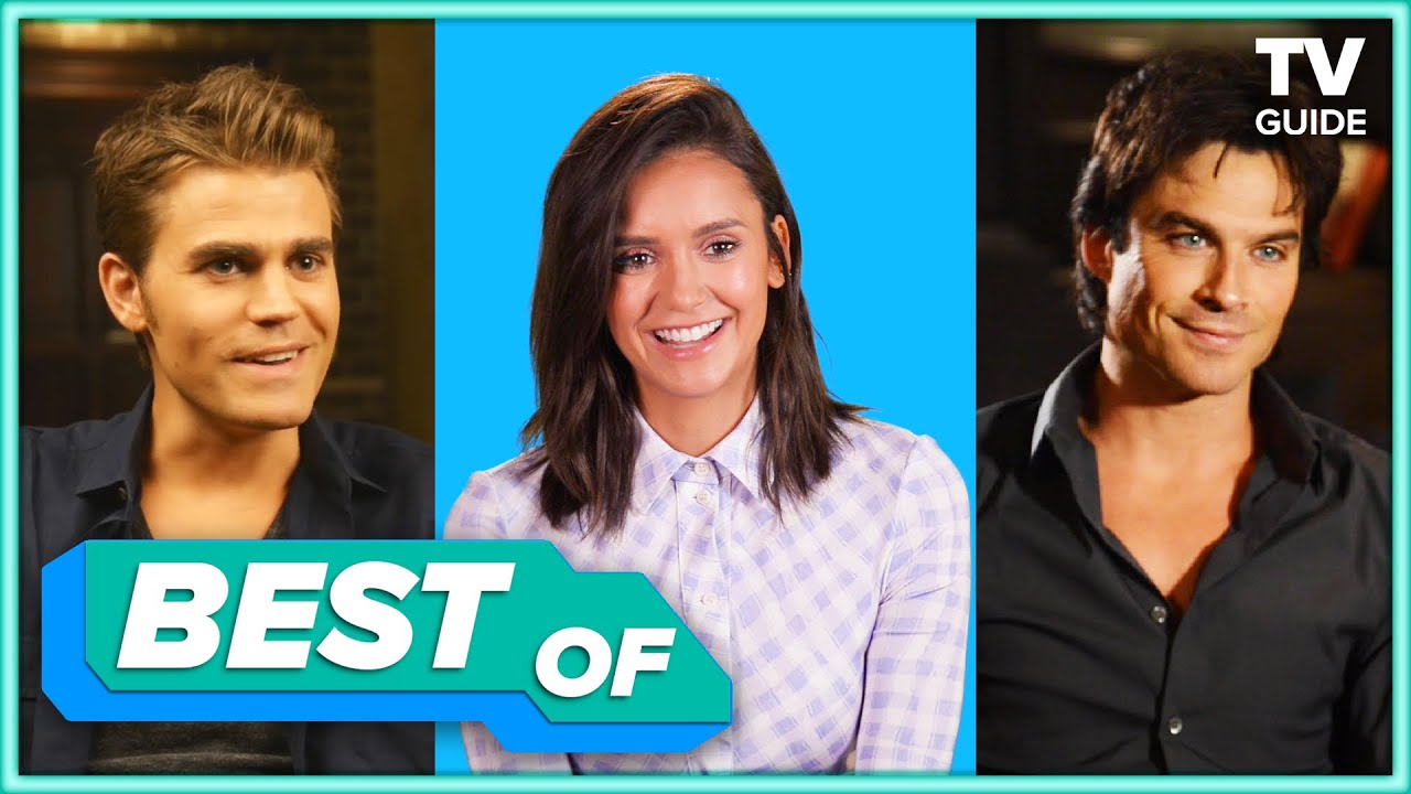 The Vampire Diaries Cast Best Interview Moments and Outtakes | TV Guide