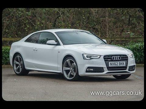 "Audi Used For Sale >> 2012 62 AUDI A5 2 0 TDI 177 Quattro Black Edition S Line ""Black Edition"" 177 BHP - YouTube"