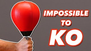This Punching Bag Can't Be Knocked Out / How Hard Can You Punch? (Impossible Boxing Challenge)