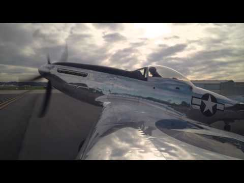 P-51 Mustang Dreamin' in HD with Santa Monica Resident and Pilot Dr. Jule Lamm