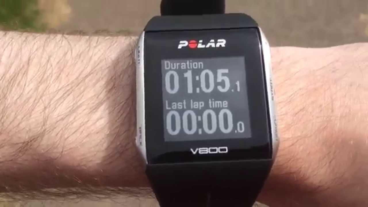 486a9967e Polar V800 GPS Watch First Run - YouTube