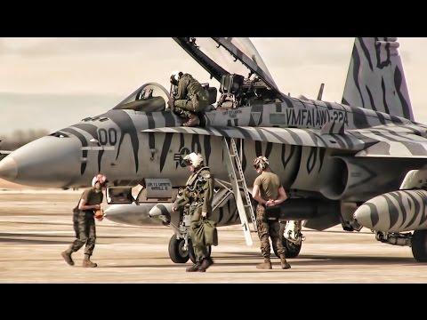 U.S. Marines F/A-18D Hornets • Jaded Thunder 17
