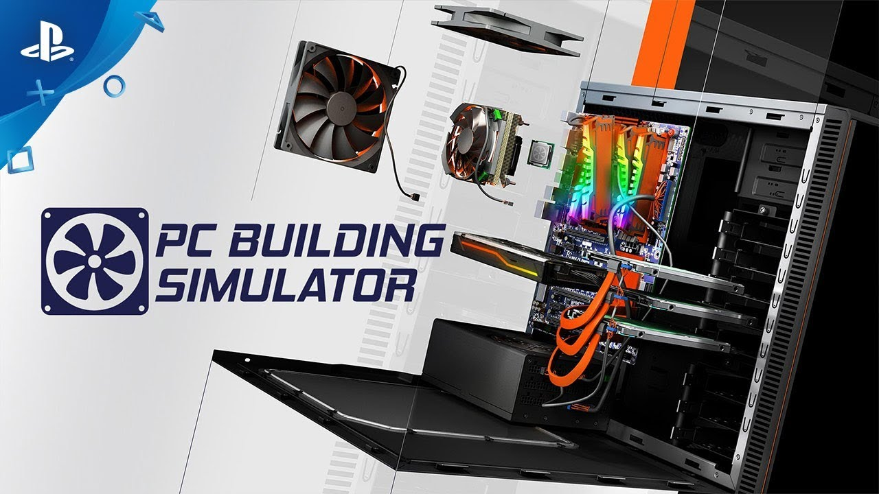 Pc Building Simulator Official Trailer Ps4 Youtube